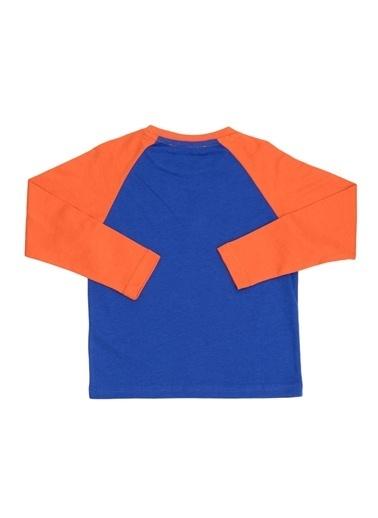 Limon Company Kol Detaylı Baskılı Erkek Çocuk Tshirt Saks
